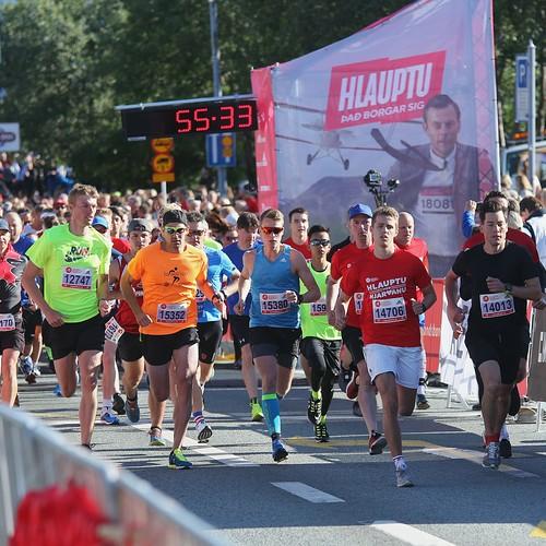 10 km start.